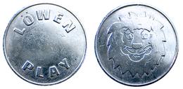 03315 GETTONE TOKEN JETON AZIENDALE GAMING PLAY MACHINE LOWEN PLAY - Germany