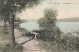 Genval.  Vue Générale Du Lac Avec L'Ile--scan-- - Belgique