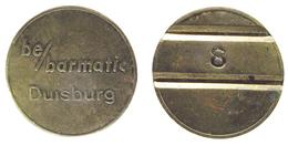 00123 GETTONE TOKEN JETON AZIENDALE VENDING DISPENSER MACHINE BE/BARMATIC DUISBURG - Germany