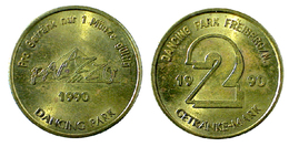 00775 GETTONE TOKEN JETON AMUSEMENT LOCAL DANCING PARK FREIBERG 1990 GETRANKE MARK - Germany