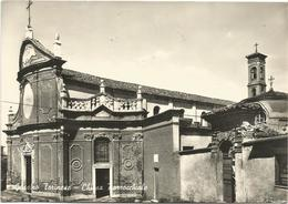 W391 Gassino Torinese (Torino) - Chiesa Parrocchiale / Viaggiata 1965 - Italia