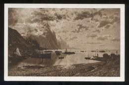 Bodo. *Le Port De Bodoe* Ilustrador *Normann* Nueva. - Norvège