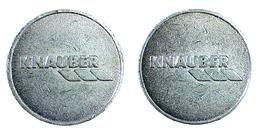 00796 GETTONE TOKEN JETON ADVERTISING LOCAL COMPANY TOKEN KNAUBER - Germany
