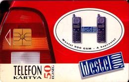 TARJETA TELEFONICA DE HUNGRIA. WESTEL 900. HU-S-1995-02A. (224) - Hungría