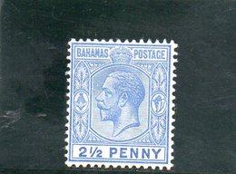 BAHAMAS 1912-9 * - 1859-1963 Crown Colony