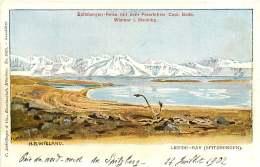 281018A NORVEGE LIEFDE BAY Spitzbergen Reise Mit Dem Polarfahrer Cap. BADE Wismar I. Meckibg Expédition Polaire - Missionen