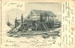 281018A NORVEGE Expédition Polaire -  Expédition ANDREE Au POLE NORD 1897 Usine à Gaz Installée Au SPITZBERG - Missions