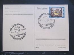 DR Nr. 828, 1943, Postkarte, Tag Der Briefmarke, Strassburg *DEL2063* - Deutschland