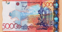 KAZAKHSTAN P. 38  5000 Tenge 2011  Unc - Kazakistan