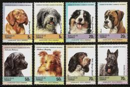 TUVALU Nukulaelae 1985 - DOGS - SUPERSALE !! 8v Mi 33-40 MNH ** Cv€5,00 V1035 - Tuvalu