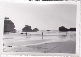Foto Strand Von Biarritz - Ca. 1940 - 8*5,5cm (37338) - Orte