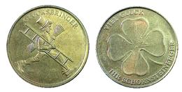 01147 GETTONE TOKEN JETON COMMEMORATIVE GRETING LUCKY TOKEN GLUCKSBRINGER VIEL GLUCK - Germany
