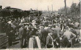 (79) CPA Catastrophe De Contich  1908 Blesses Soignes Sur Place - Otros
