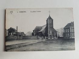 """CP """"Herstal - La Place Licour"""" - Années 1910/1920 (Belgique) - Herstal"""