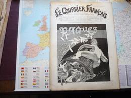 Le Courrier Français 1-er Avril 1888 5-e Année N°14 - Livres, BD, Revues