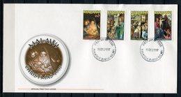 Malawi 1997. Yvert 674-77 FDC - Malawi (1964-...)