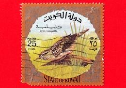 KUWAIT - Usato - 1973 - Uccelli - Torcicollo - Jynx Torquilla - 25 - Vedi ... - Kuwait