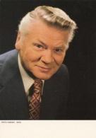 HEINZ CONRAD - Fotokarte 1983 Ehrenmitgliedschaft D.Verbandes … - TV-Serien