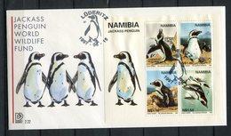 Namibia 1997. Yvert Block 28 FDC - Namibia (1990- ...)