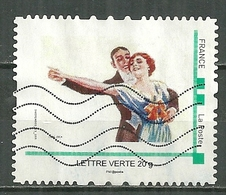 FRANCE Oblitéré Mon Timbre à Moi Danse Folklore - France