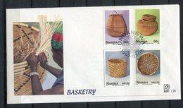 Namibia 1997. Yvert 798-801 FDC - Namibia (1990- ...)