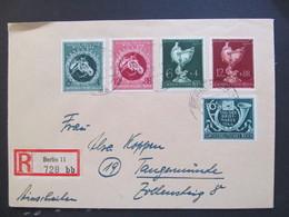 DR Nr. 900-903 MiF, R-Brief, Satzbrief, 1944, Berlin *DEL2073* - Germany