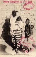 CPA Geiser 88 Colomb-Béchar Famille D'un Tirailleur Sénégalais ALGERIE (757354) - Bechar (Colomb Béchar)