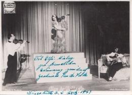 Kabarett Wintergarten Berlin 1943 - Orig.Foto Ak Format M.Orig.Widmung V.Frl. ELFI MISLEY,oben U.unten Heftklammerspuren - Kabarett