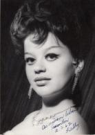 Schöne Schauspielerin 1962 - Orig.Fotokarte Mit Widmung, Foto Joppen Farnkfurt - Schauspieler