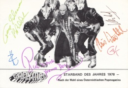 GANYMED - Starband Des Jahres 1978 (Ö) Mit Orig.Autogramme - Musique Et Musiciens