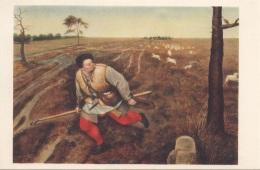 DER UNGETREUE HIRTE V. Pieter Brueghel - Malerei & Gemälde