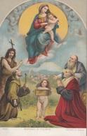 MADONNA DI FOLIGNO V.Raffaelo Sanzio - Malerei & Gemälde