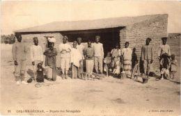 CPA Geiser 91 Colomb-Béchar Popote Des Sénégalais ALGERIE (757370) - Bechar (Colomb Béchar)