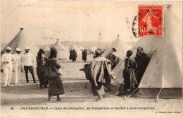 CPA Geiser 49 Colomb-Béchar Camp Des Sénégalais ALGERIE (757404) - Bechar (Colomb Béchar)