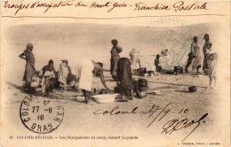 CPA Geiser 48 Colomb-Béchar Les Sénégalais Au Camp ALGERIE (757405) - Bechar (Colomb Béchar)