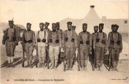 CPA Geiser 45 Colomb-Béchar Un Peloton De Sénégalais ALGERIE (757408) - Bechar (Colomb Béchar)
