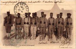 CPA Geiser 45 Colomb-Béchar Un Peloton De Sénégalais ALGERIE (757409) - Bechar (Colomb Béchar)