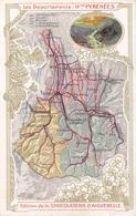 Les Hautes Pyrénées (65) - Les Départements - Edition De La Chocolaterie D'Aiguebelle - Other Municipalities