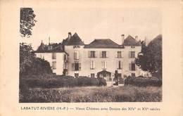 Les Hautes Pyrénées (65) - Labatut Rivière - Vieux Château Avec Donjon Des XIVe Et XVe Siècles - France