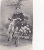 """CPA (47) VILLENEUVE Sur LOT Kléber BOJON """"Durandal Wolbar"""" Vélo Cyclisme Cycling Radsport  (2 Scans) - Villeneuve Sur Lot"""