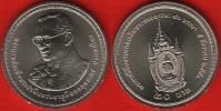 "Thailand 20 Baht 2007 ""Kings 80th Birthday"" UNC - Thaïlande"