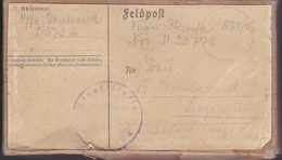 Feldpostpäckchen - Feldpost 21573A - Artillerie-Regiment 129 Stab I. Abt. - 2. WK (37343) - Alemania
