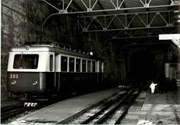 Leysin Feydey - Eisenbahn - VD Vaud