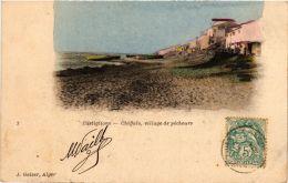 CPA Geiser 7 Castiglione Chiffalo, Village De Pécheurs ALGERIE (757573) - Other Cities