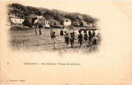 CPA Geiser 5 Castiglione Bou-Haroun, Village De Pécheurs ALGERIE (757575) - Other Cities