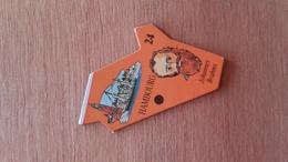 Magnet Le Gaulois Département 24 Hambourg Johannes Brahms - Magnets