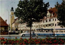 Freudenstadt - Marktplatz Und Kurbähnle - Freudenstadt