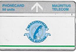 CARTE-HOLOGRAPHIQUE-MAURICE-50U-NEUVE-V° N° Envers 506A50716-TBE-RARE - Maurice