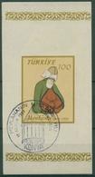 Türkei 1957 750. Geburtstag Von Djala Od-Din Rumi Block 8 Gestempelt (C6693) - 1921-... República