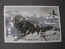 Wengen Bahnhof 1939 - BE Berne